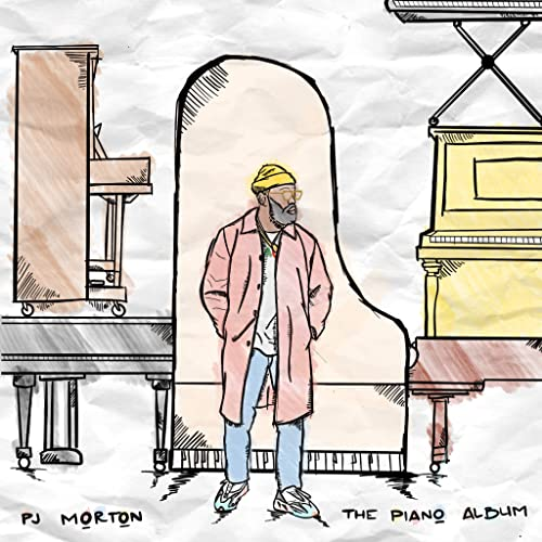 PJ MORTON 'THE PIANO ALBUM' LP