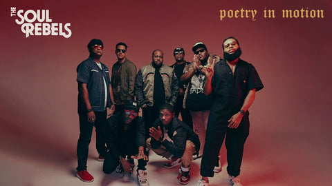 "SOUL REBELS ""POETRY IN MOTION"" CD"