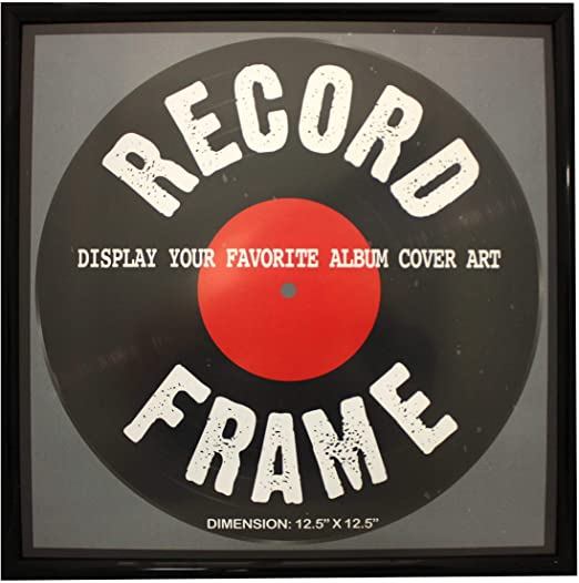 RECORD ALBUM FRAME, BLACK