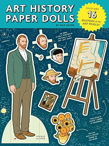 ART HISTORY PAPER DOLL BOOK