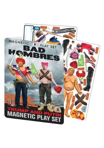 BAD HOMBRES TRUMP & PUTIN MAGNETIC PLAY SET