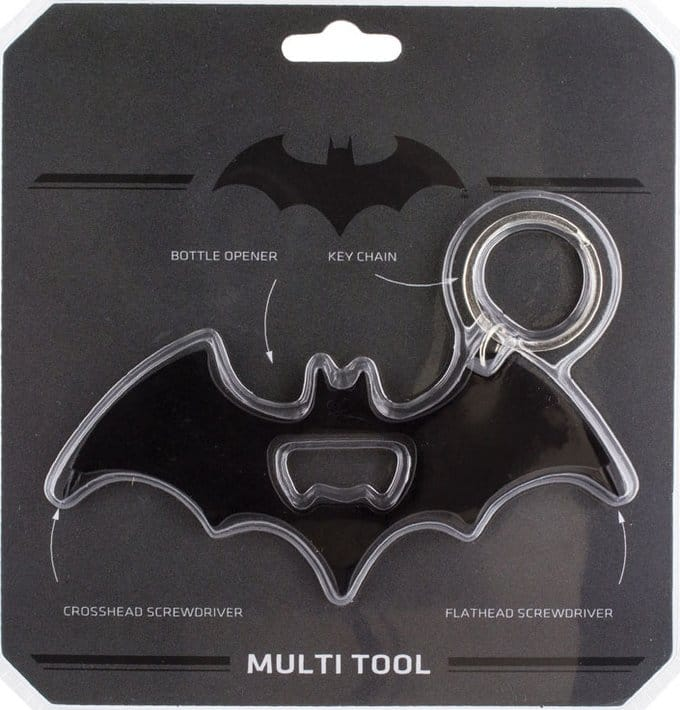 BATMAN MULTI USE TOOL KEYCHAIN