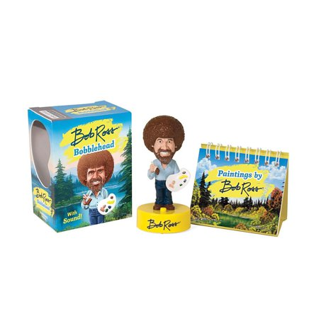 BOB  ROSS MINI BOBBLEHEAD