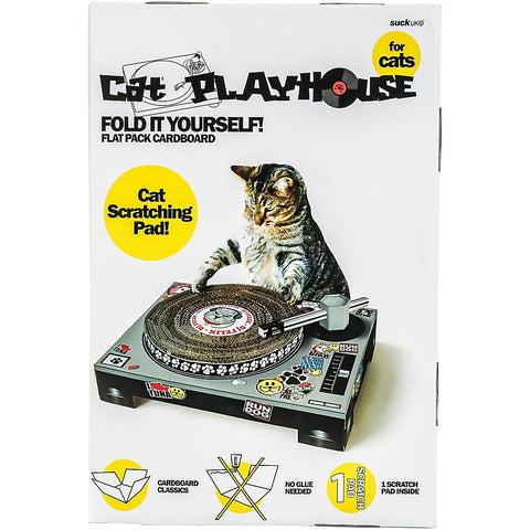 CAT PLAYHOUSE DJ SCRATCHING PAD