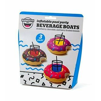 DONUT BEVERAGE BOATS (3)