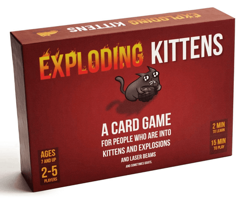 EXPLODING KITTENS KIDS EDITION