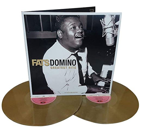 FATS DOMINO 'GREATEST HITS' LP (2LP SET, GOLD VINYL)