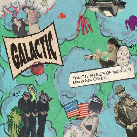 GALACTIC 'THE OTHER SIDE OF MIDNIGHT LIVE IN NEW ORLEANS' CD