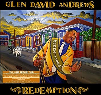 GLEN DAVID ANDREWS 'REDEMPTION' CD