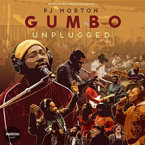 PJ MORTON 'GUMBO UNPLUGGED' CD