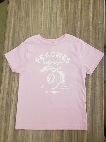 LIGHT PINK BABY/TODDLER PEACHES TEE