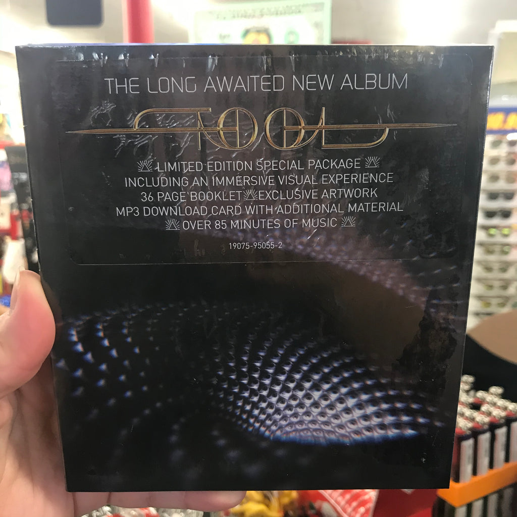TOOL 'FEAR INOCULUM' DELUXE EDITION CD