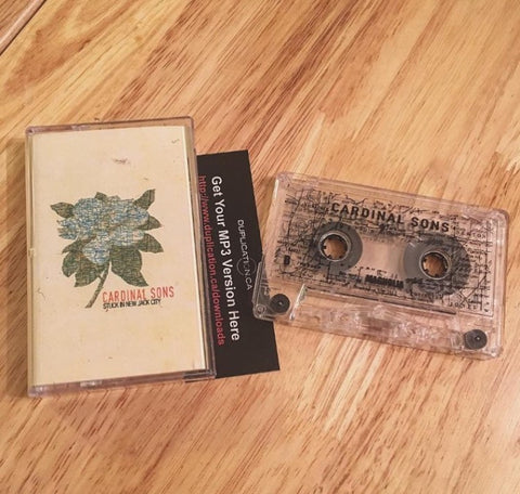 CARDINAL SONS CASSETTE TAPE 'STUCK IN NEW JACK CITY'
