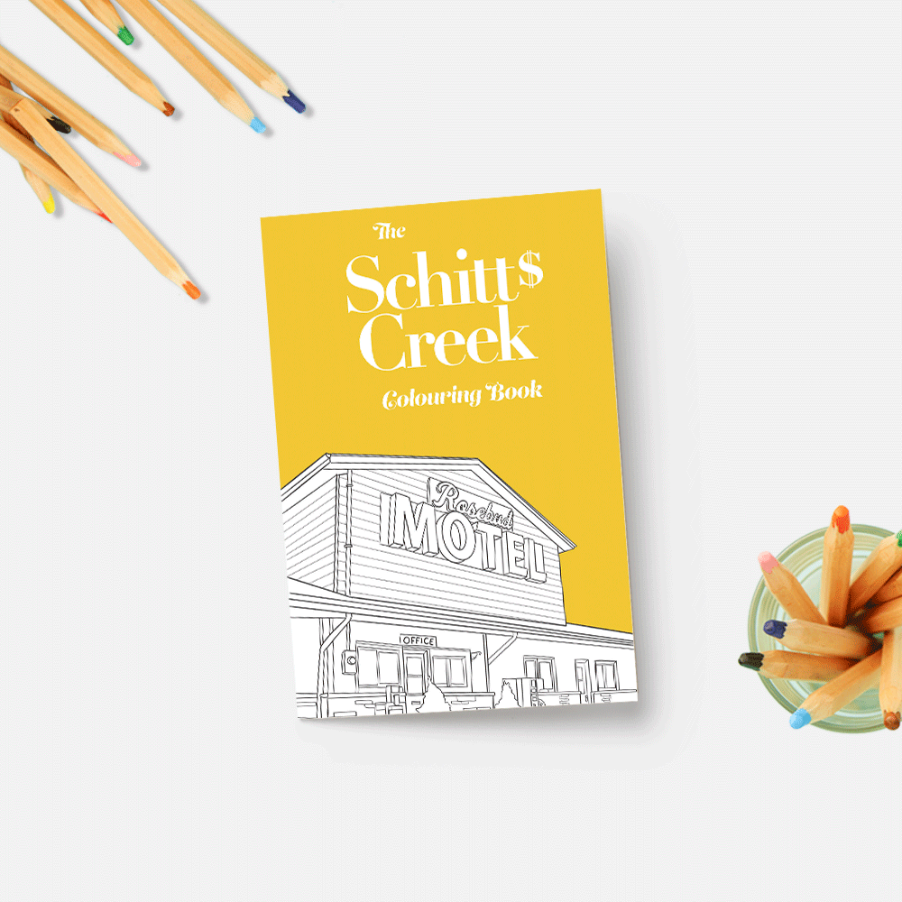 SCHITT'S CREEK COLOURING BOOK