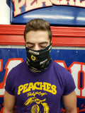 PEACHES LOGO FACE MASK/COVERING