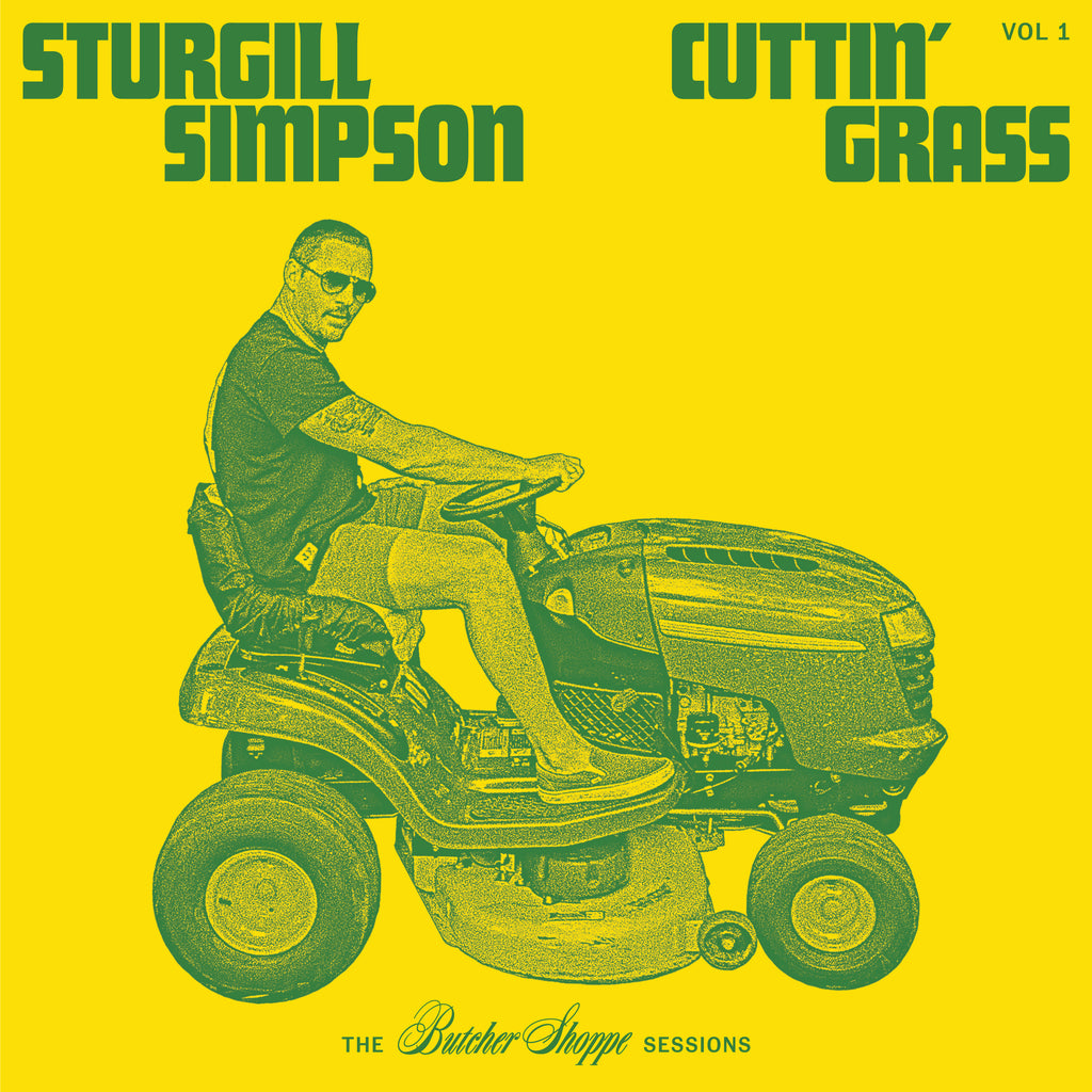 STURGILL SIMPSON 'CUTTIN' GRASS' LP