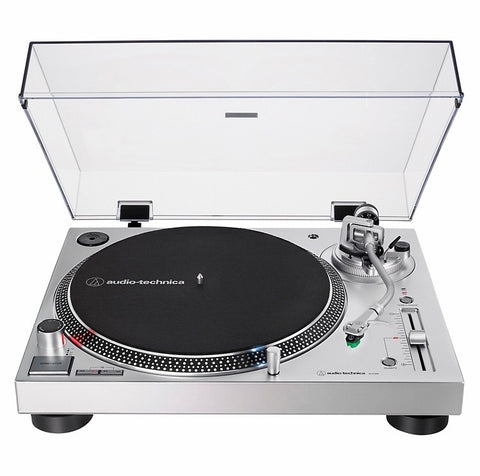 AUDIO TECHNICA LP120 TURNTABLE (SILVER)