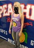 PEACHES TRI-BLEND LADIES' PURPLE TANK