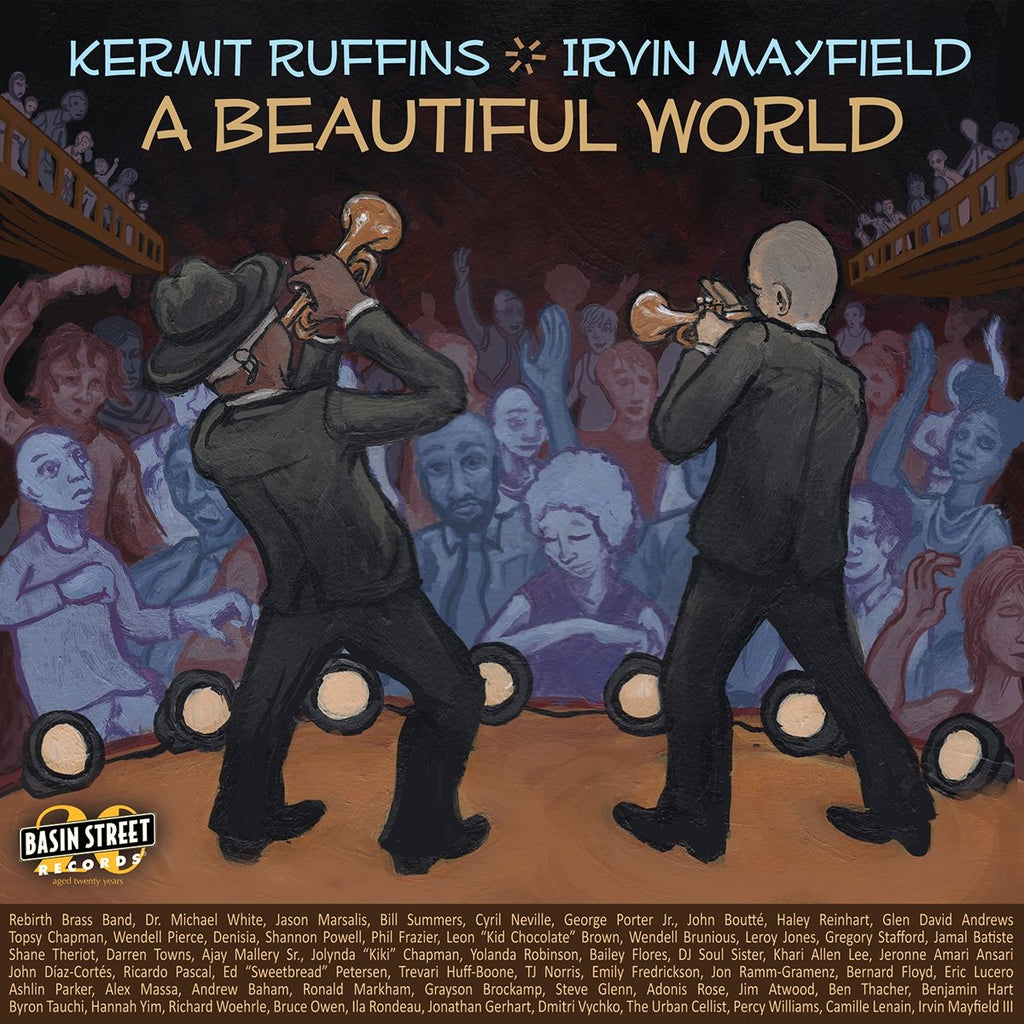 KERMIT RUFFINS & IRVIN MAYFIELD 'A BEAUTIFUL WORLD' LP