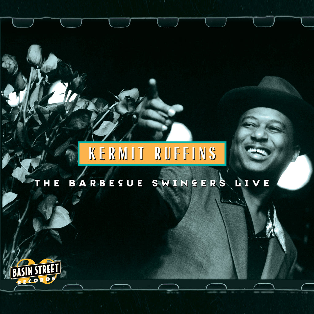 KERMIT RUFFINS 'THE BARBECUE SWINGERS LIVE' CD