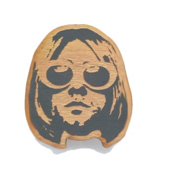 KURT COBAIN ORNAMENT