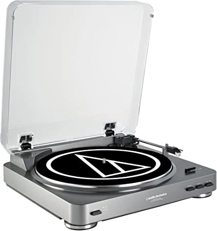 AUDIO TECHNICA LP60 TURNTABLE (SILVER)