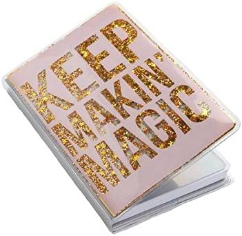 KEEP MAKIN' MAGIC GLITTER NOTEBOOK