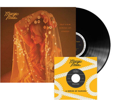 MARGO PRICE 'THAT'S HOW RUMORS GET STARTED' INDIE EXCLUSIVE LP W/ 7'' (AND BONUS GIFTS)