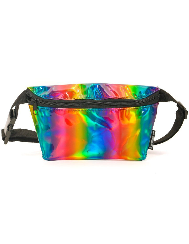 METALLIC RAINBOW FANNY PACK