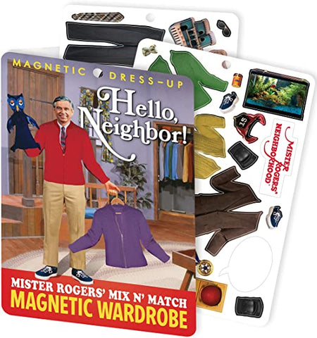 MR. ROGERS MAGNETIC DRESS UP SET