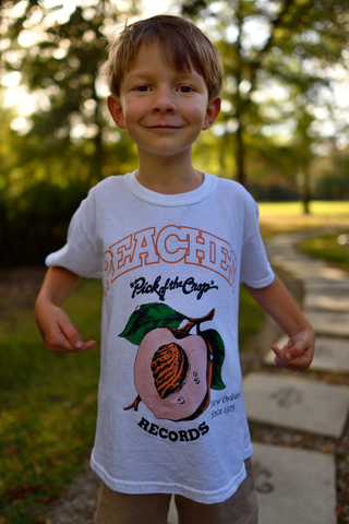 PEACHES KID'S WHITE TEE