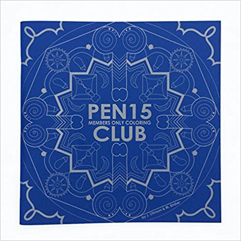 PEN15 CLUB COLORING BOOK