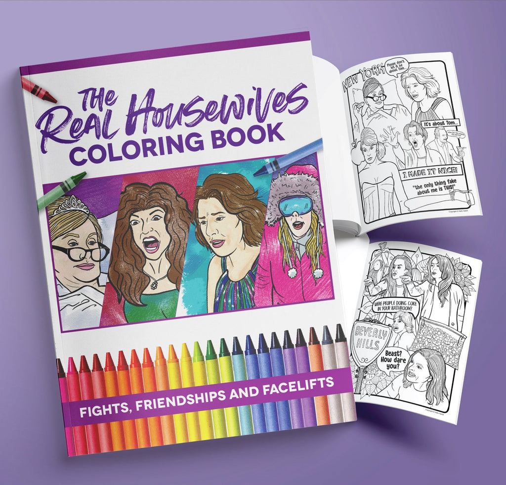 BEST OF THE REAL HOUSEWIVES COLORING BOOK