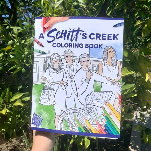A SCHITT'S CREEK COLORING BOOK