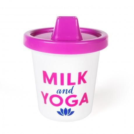 ZEN BABY SIPPY CUP (MILK & YOGA)