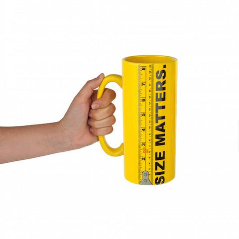 SIZE MATTERS XL COFFEE MUG