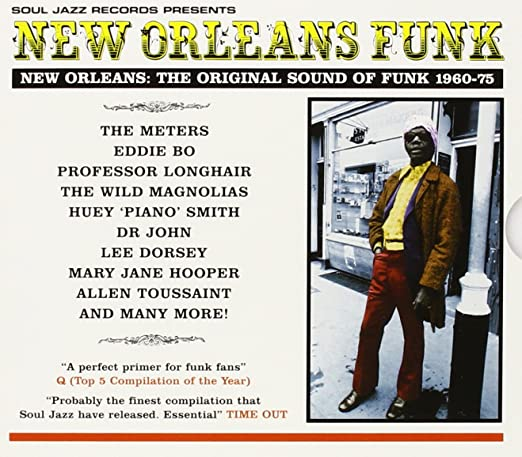 SOUL JAZZ RECORDS 'NEW ORLEANS FUNK' VOL 1 (LP)