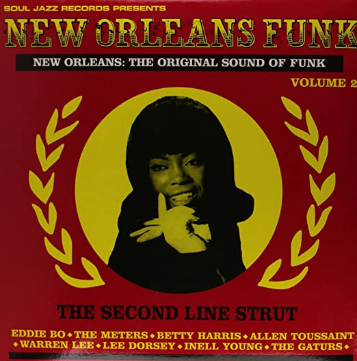 SOUL JAZZ 'NEW ORLEANS FUNK' VOL. 2 (LP)