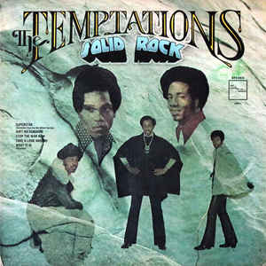 THE TEMPTATIONS 'SOLID ROCK' (VINTAGE SEALED LP)