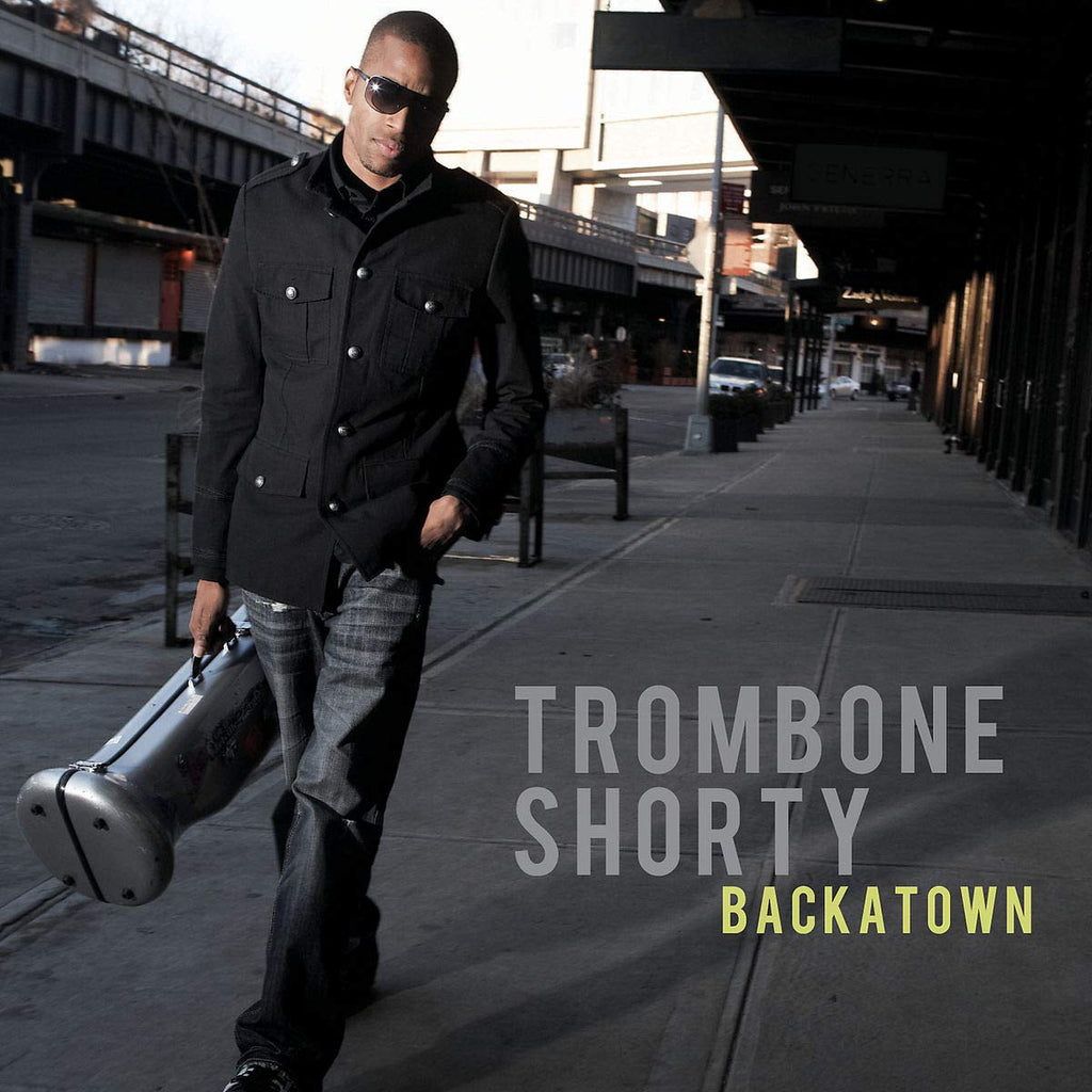 TROMBONE SHORTY 'BACKATOWN' CD