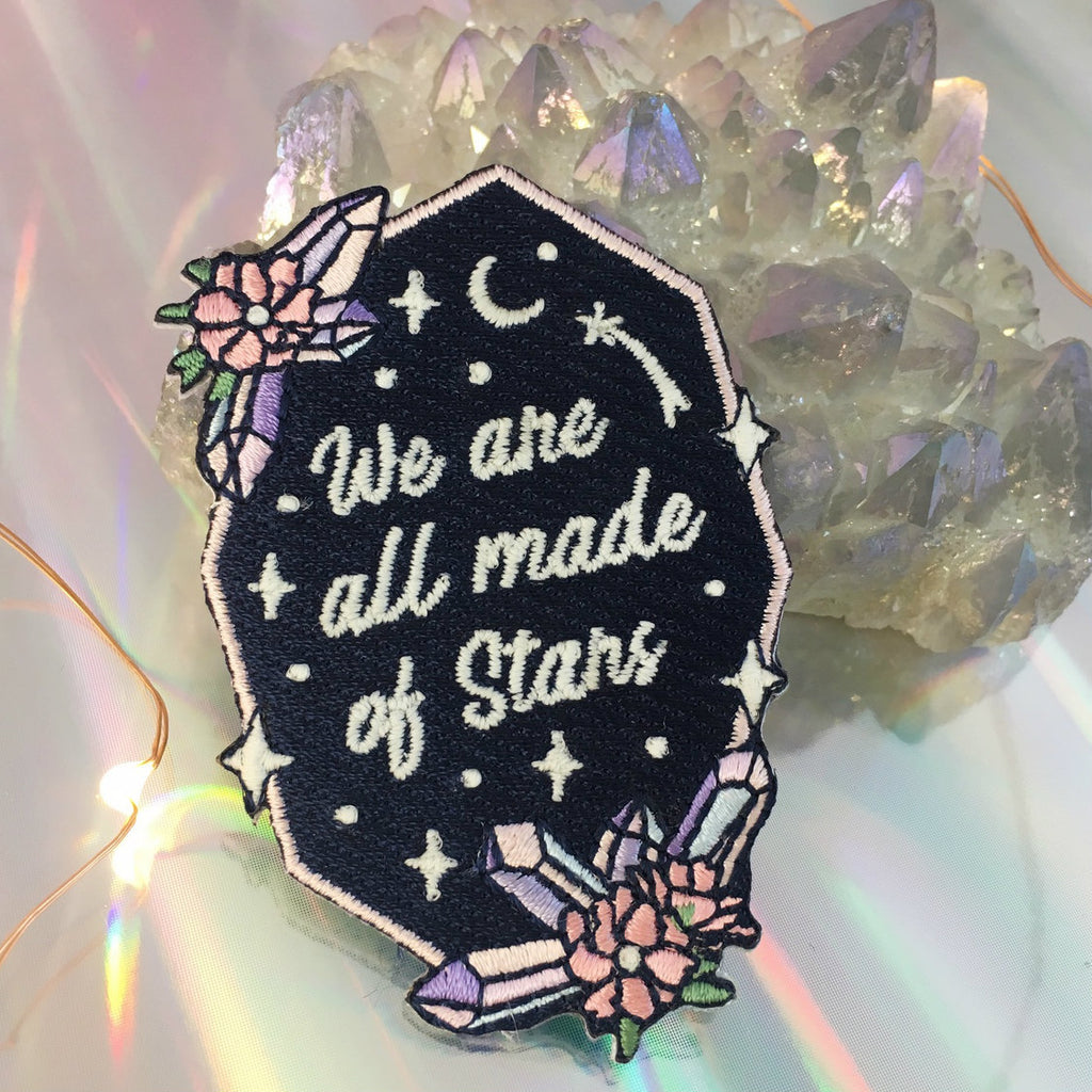 WE ARE ALL MADE OF STARS PATCH