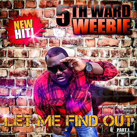 5th WARD WEEBIE 'LET ME FIND OUT PT 1' CD SINGLE