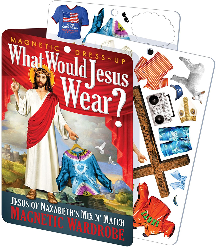 WHAT WOULD JESUS WEAR MAGNETIC DRESS UP SET