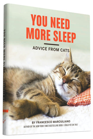 YOU NEED MORE SLEEP ADVICE FROM CATS BOOK
