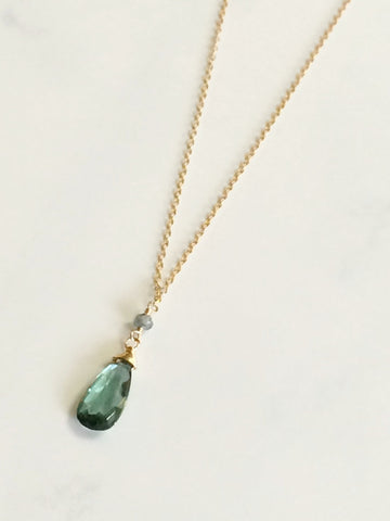 Green Quartz Paula Necklace