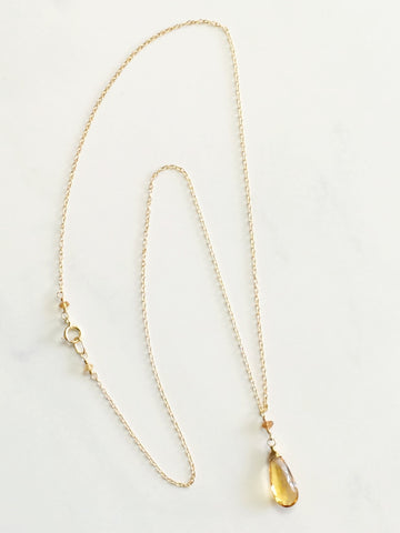 CItrine Paula Necklace