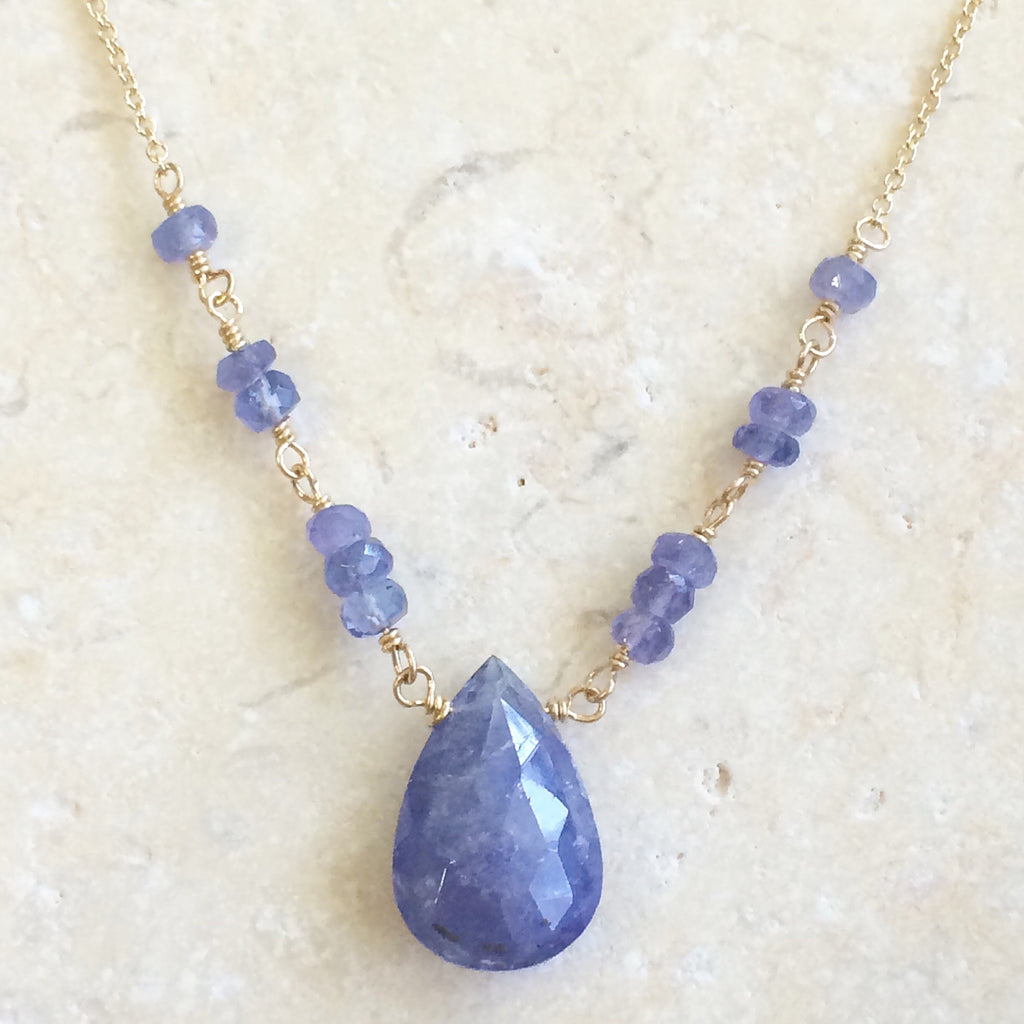 Tanzanite Karmic Necklace