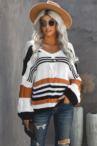 The Braided Knit Top