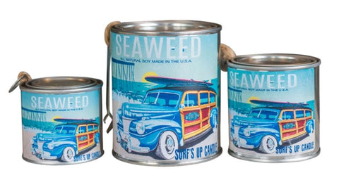 Seaweed Paint Can Candle