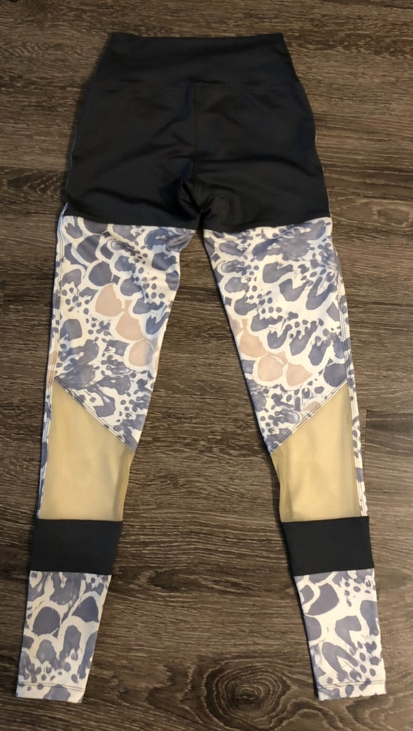 Bloom Blocked Legging - Size Small